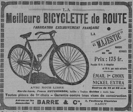 La meilleure bicylette de route
