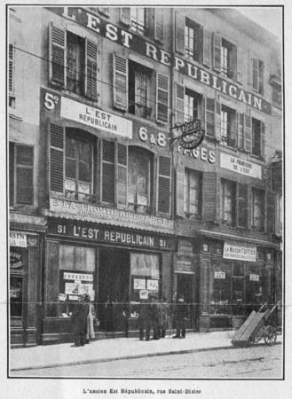 L'ancien Est républicain, rue Saint-Dizier