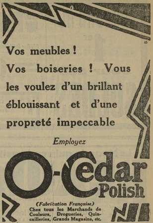 O-Cedar Polish