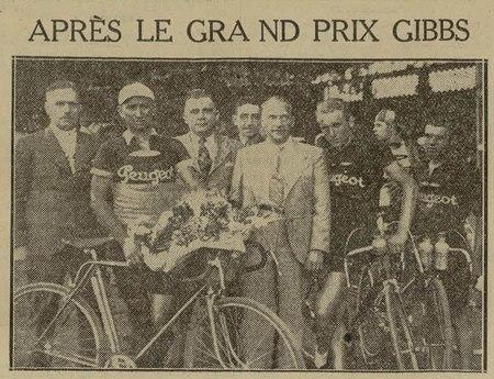 Après le Grand Prix Gibbs