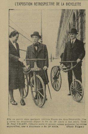 L'exposition rétrospective de la bicyclette