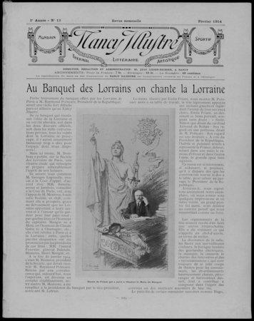 Nancy illustré : mondain, thermal, littéraire, artistique, sportif