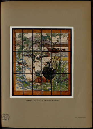Carton de vitrail (Albert Besnard)