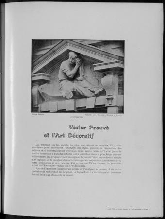Victor Prouvé et l'art décoratif