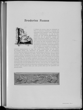 Broderies russes