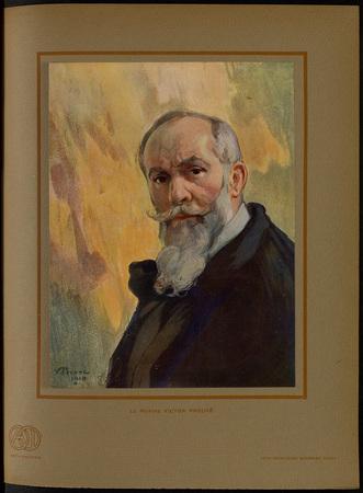 Le peintre Victor Prouvé