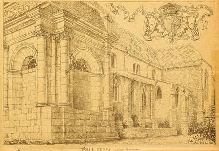 L'église d'Étival