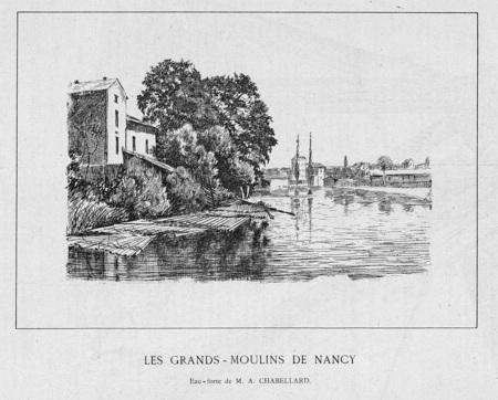 Les grands-moulins de Nancy