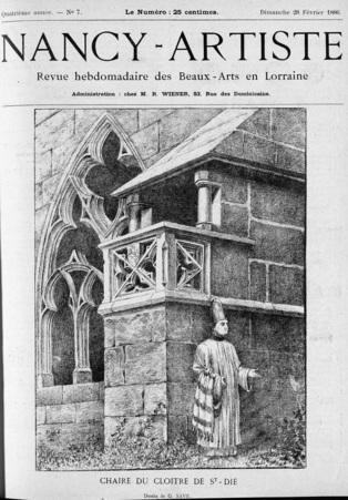 Chaire du cloître de St-Dié