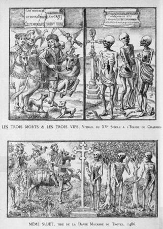 Les trois morts & les trois vifs