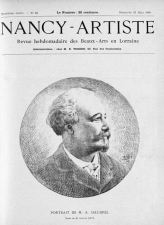 Portrait de M. A. Daubrée