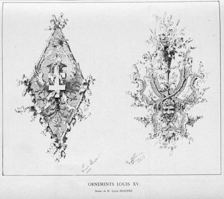 Ornements Louis XV