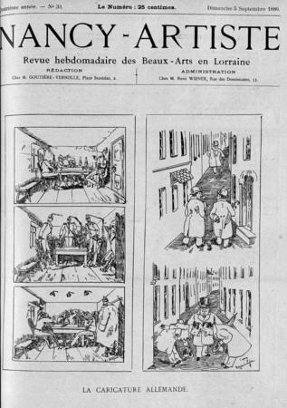 La caricature allemande