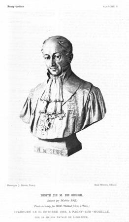 Buste de M. de Serre