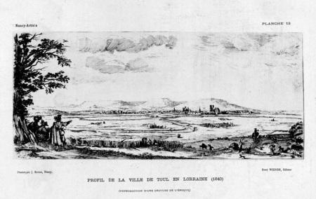 Profil de la ville de Toul en Lorraine