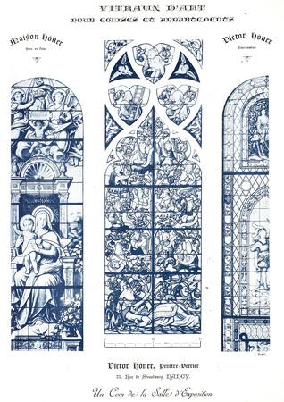 Vitraux d'art pour églises et appartements