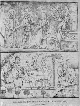 Fresques du XIVe siècle à Gerbéviller