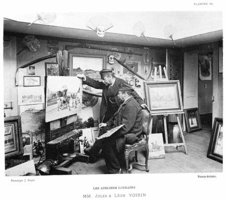 Les ateliers lorrains : MM. Jules et Léon Voirin