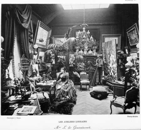 Les ateliers lorrains : Mme L. de Goussaincourt