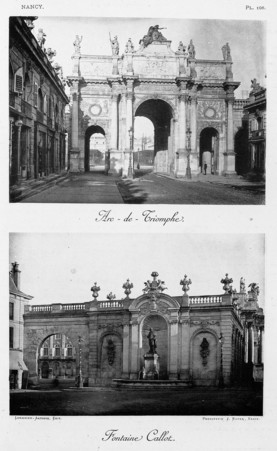 Arc-de-triomphe. Fontaine Callot