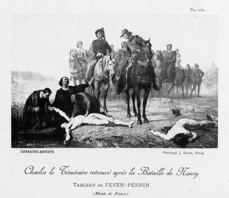 Charles le Téméraire retrouvé après la bataille de Nancy