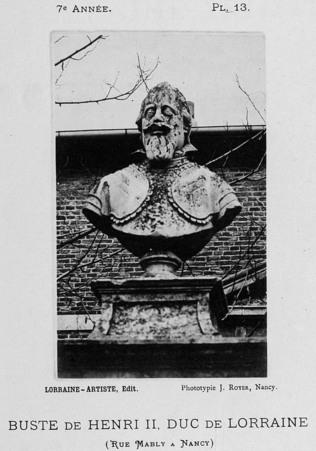 Buste de Henri II, duc de Lorraine