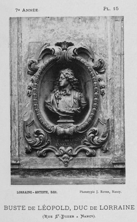 Buste de Léopold, duc de Lorraine