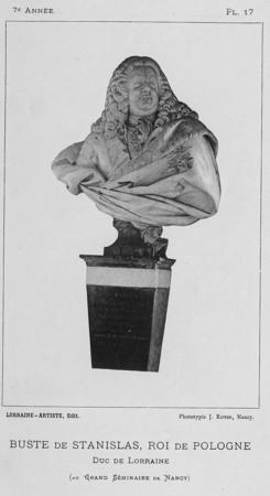 Buste de Stanislas, roi de Pologne