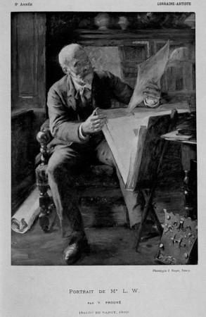 Portrait de Mr L. W.