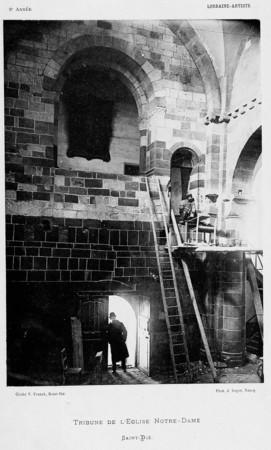Tribune de l'église Notre-Dame, Saint-Dié