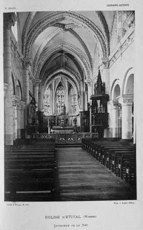 Eglise d'Etival