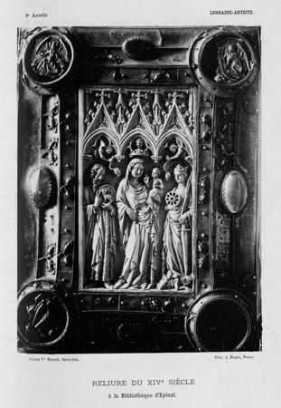 Reliure du XIVe siècle