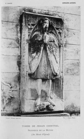 Tombe de Jehan Chintrel