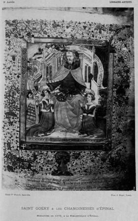 Saint Goëry & les chanoinesses d'Épinal