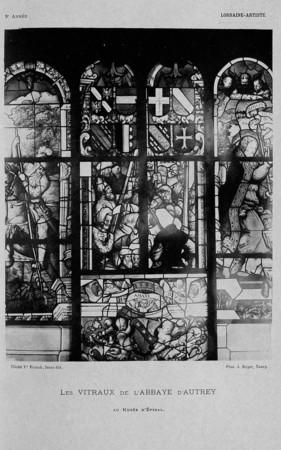 Les vitraux de l'abbaye d'Autrey
