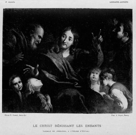 Le Christ bénissant les enfants