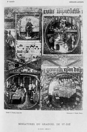 Miniatures du graduel de St-Dié