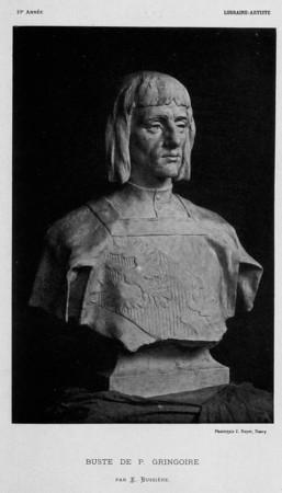 Buste de P. Gringoire
