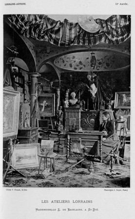 Les ateliers lorrains : mademoiselle L. de Bazelaire, à St-Dié