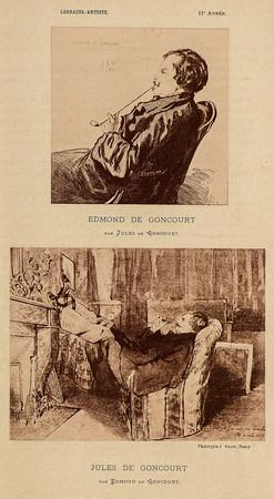 Edmond de Goncourt. Jules de Goncourt