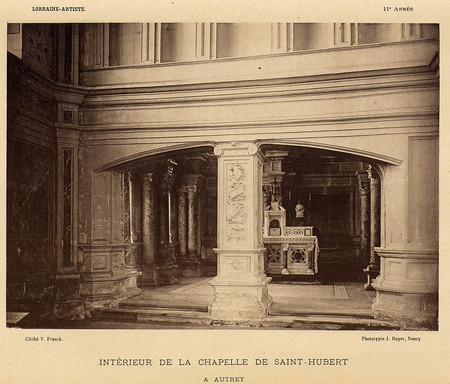 Intérieur de la chapelle de Saint-Hubert