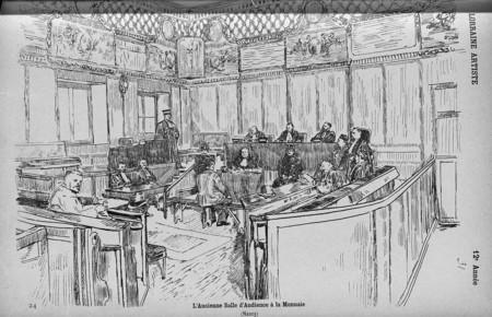 L'ancienne salle d'audience de la monnaie