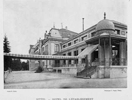 Vittel : hôtel de l'établissement