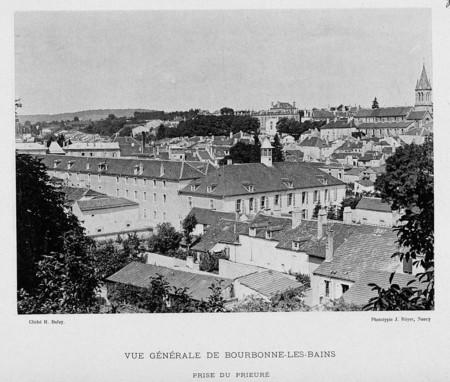 Vue générale de Bourbonne-les-Bains