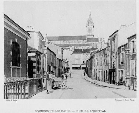 Bourbonne-les-Bains : rue de l'hôpital