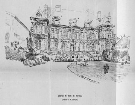 L'hôtel de ville de Verdun