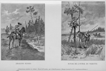 Illustrations extraites du volume : Russes et Prussiens