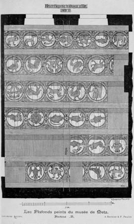 Les plafonds peints du musée de Metz