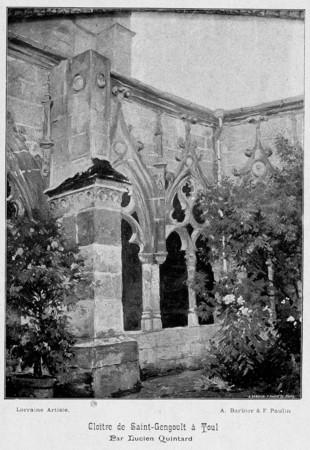 Cloître de Saint-Gengoult à Toul
