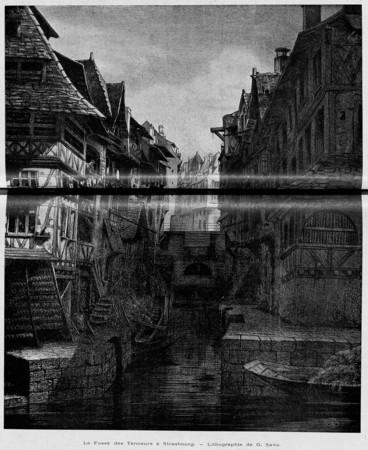 Le fossé des tanneurs à Strasbourg
